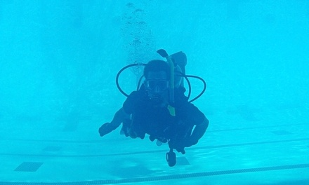 Open-Water Scuba-Certification Course for One or Two at Inland Water Divers (Up to 48% Off)