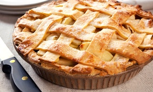 Auntie M's Pies: Freshly Baked Pie or Quiche from Auntie M's Pies (Up to 28% Off)