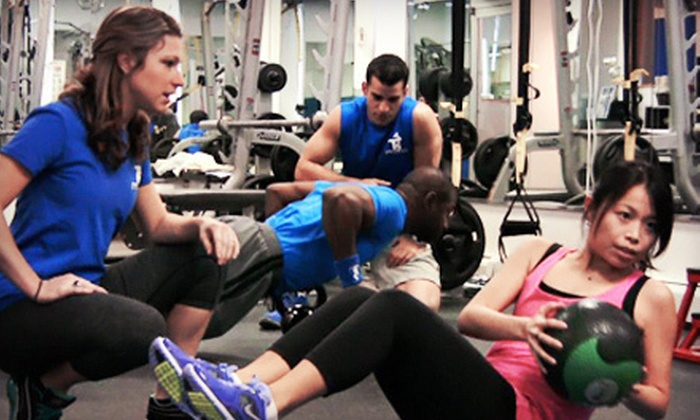 TS Fitness - Midtown East: 4, 8, or 12 Group Training Sessions at TS Fitness (Up to 75% Off)