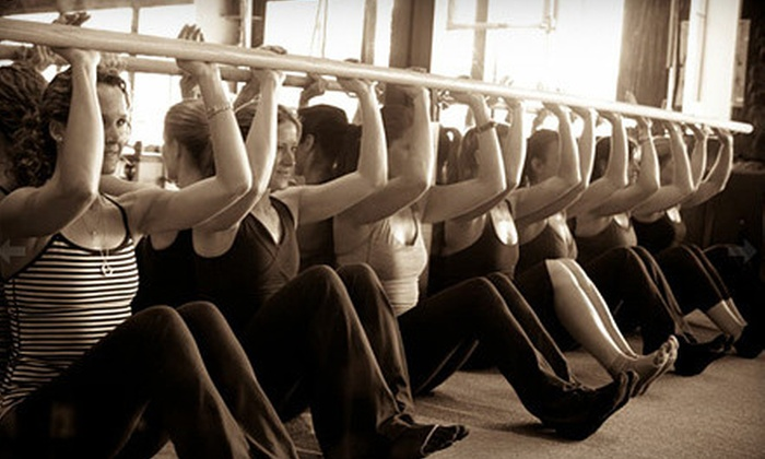 The Bar Effect - Brockway: 5 or 10 Bar-Effect Fitness Classes at The Bar Effect (57% Off)