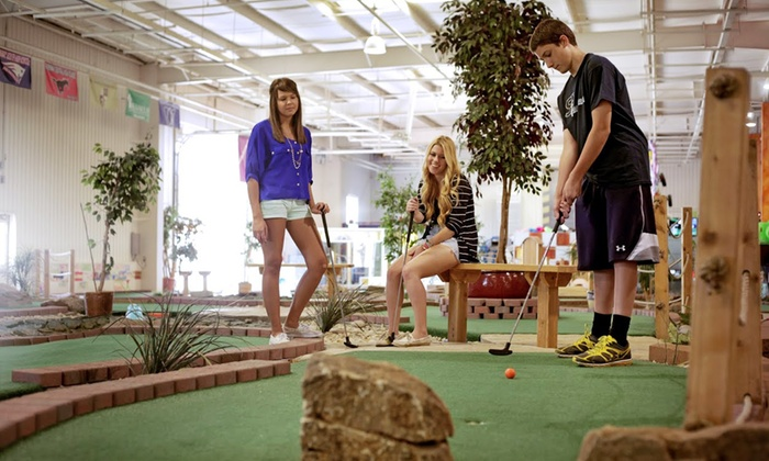 Chesterfield Sports Fusion - Chesterfield: $18 for Indoor Mini Golf for Four & $10 Video Arcade Credit at Chesterfield Sports Fusion (a $34 Value)