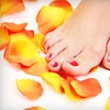 Up to 58% Off Mani-Pedi at Above and Beyond Salon