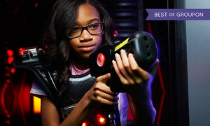 Long Island's Laser Bounce: Open Play Bounce or Laser Tag Package for One or Two at Long Island's Laser Bounce (Up to 53% Off)