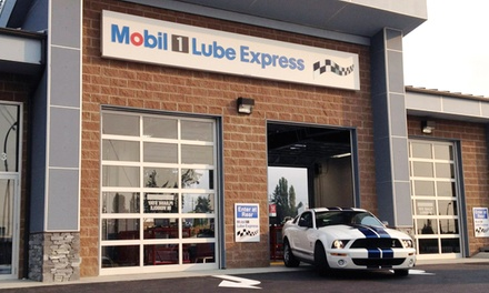 One or Two Standard Oil Changes at Mobil 1 Lube Express (Up to 47% Off)