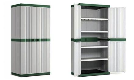 Armadio con 4 ripiani regolabili groupon goods for Groupon armadio
