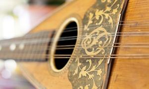 Associazione Mandolinistica puteolana: 4, 8  o 16 lezioni private di mandolino con maestro diplomato al Conservatorio (sconto fino a 79%)