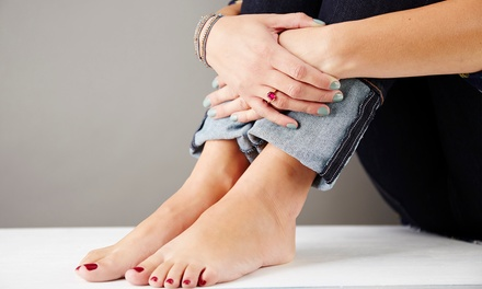 $25 for a Shellac Manicure with a Luxurious Pedicure at Nails by Lynn ($55 Value)