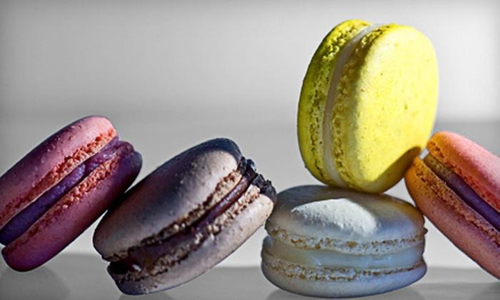 Rocq Café - Lake Forest: $9 for One Dozen French Macarons at Rocq Café ($19.20 Value)