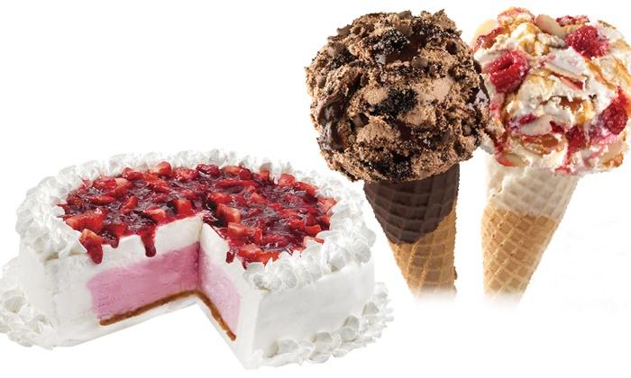 Marble Slab Creamery - Marble Slab Markham: Ice Cream and Ice Cream Cakes from Marble Slab Creamery Markham (Up to 33% Off). Three Options Available.