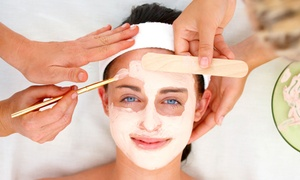 O Spa Salon: Pumpkin Glycolic Peel with Optional Foot Treatment at O Spa Salon (Up to 54% Off)