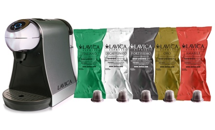 Lavica Nespresso-Compatible Brewers, Brewer Kits, or Coffee or Tea Capsules from $32.99–$149.99