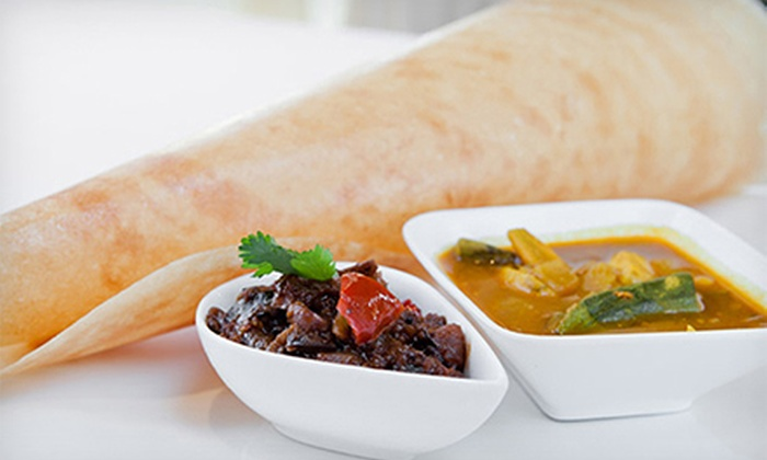 Arka Indian Restaurant & Bar - Sunnyvale & Fremont: $20 Worth of Indian Food or Appetizers with Wine or Beer Flights for 2 or 4 at Arka Indian Restaurant (Up to 59% Off)