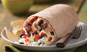 Qdoba Mexican Grill: $18 for Two Groupons, Each Good for a Mexican Meal at Qdoba Mexican Grill ($28.38 Total Value)