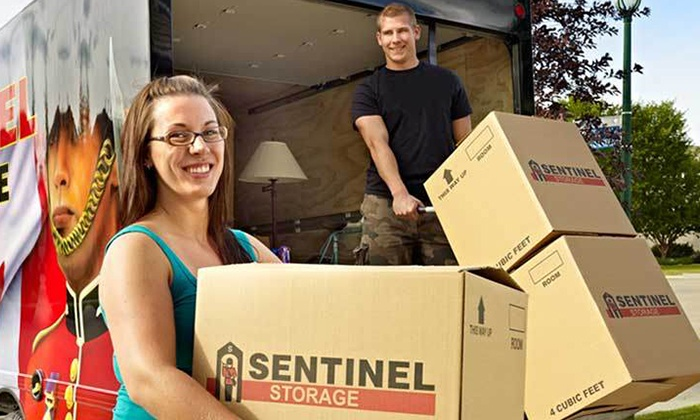 Sentinel Storage - Multiple Locations: C$25 for C$50 Worth of Packing Supplies at Sentinel Storage