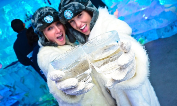 Minus 5 Ice Bar - Pointe Orlando: Admission for Two, or Admission for Two or Four with Framed Photos at Minus 5 Ice Bar (Up to 44% Off)