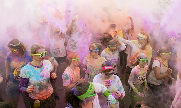 Color Me Rad - Downtown Akron: $27 for One Entry to 5K Run from Color Me Rad on Saturday, April 12 ($55 Value)