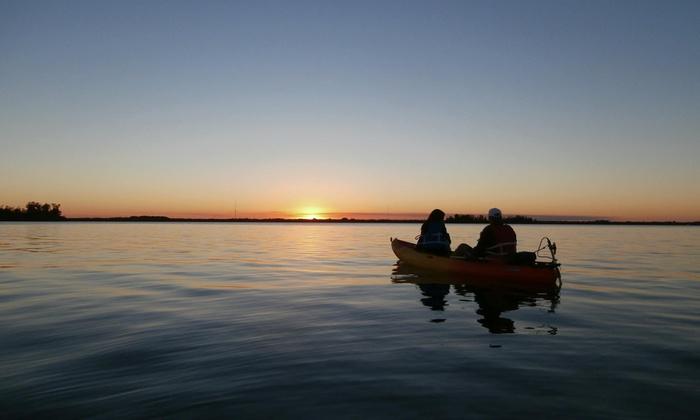 Motorized Kayak Adventures - Fort Pierce: Motorized Kayak Tour for One or Two from Motorized Kayak Adventures (Up to 42% Off)