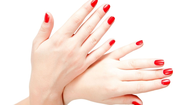 A Plus Nails - Modesto: One or ThreeShellac/Gel PolishManicures at A Plus Nails (Up to 53% Off)