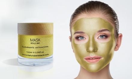 24k gouden masker van 50 of 100 ml van Kahuna Benessere