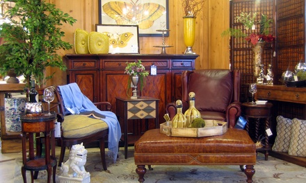 Home Furnishings and Antiques at United House Wrecking (51% Off). Two Options Available.