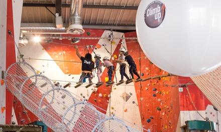 Matinée ou après midi descalade pour 1 enfant entre 6 et 15 ans dès 11,90 € avec Climb Up Aix