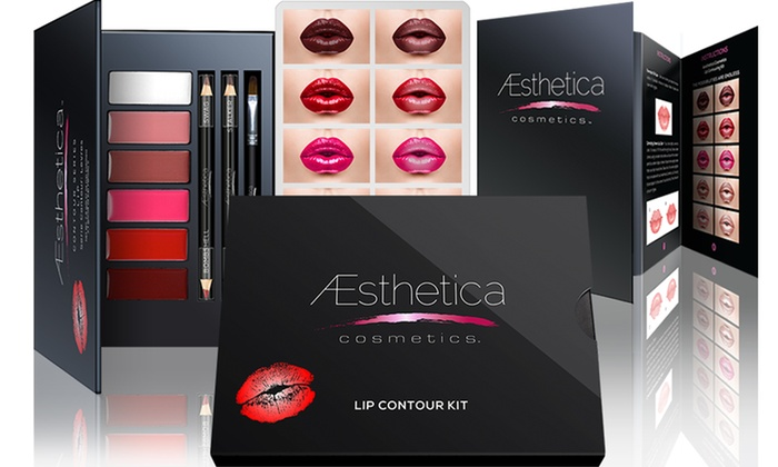 Aesthetica Cosmetics Lip Contour Kit