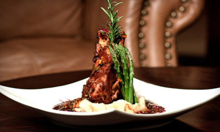 Louis Benton - Heartside-Downtown: Steak-House Dinner with Drinks for Two or Four at Louis Benton (Up to 53% Off)