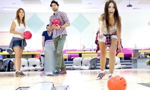 Alpha Bowling: 2 Stunden Bowling am Sonntag inkl. Leihschuhen und Pasta All-you-can-eat für Zwei, Vier oder Sechs bei Alpha Bowling