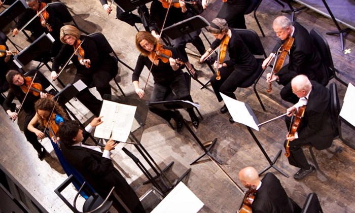 "Alexandria Symphony Orchestra - Rachel M . Schlesinger Concert Hall & Arts Center: Alexandria Symphony Orchestra's ""Dare To Think Heroically"" at Schlesinger Concert Hall (Up to 61% Off)"