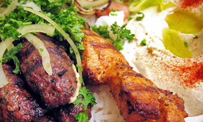Shish Restaurant & Lounge - West Hartford: $15 for $30 Worth of Middle-Eastern Food and Drinks at Shish Restaurant & Lounge