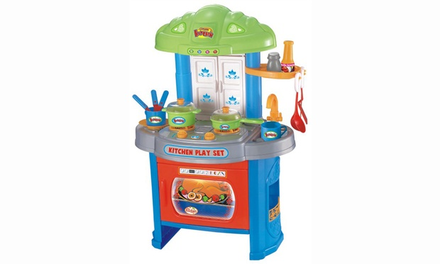 Tool shed or kitchen playset groupon goods for Kitchen set environment variables