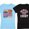 Kidteez Girls' Basketball-Themed T-Shirts