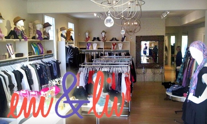 em&liv - East Carrollton: $40 for $80 Worth of Chic Attire and Apparel at em&liv