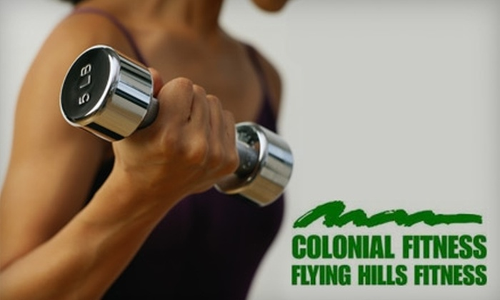 Colonial Fitness - Multiple Locations: $49 for Eight-Week Gym Membership at Colonial Fitness