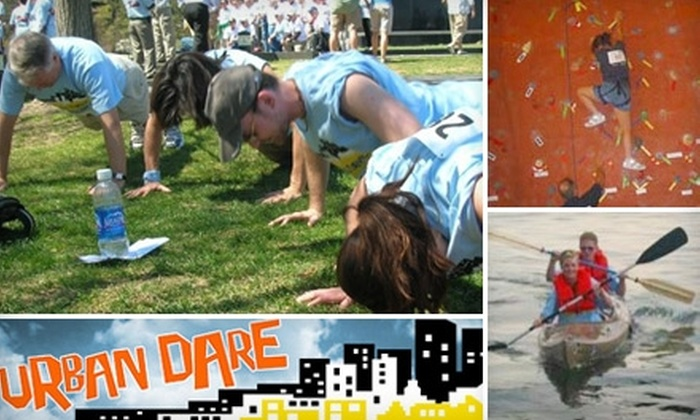 Urban Dare Austin - Downtown: $45 for One Team Entry to the Urban Dare Adventure Race on Bikes ($90 Value)