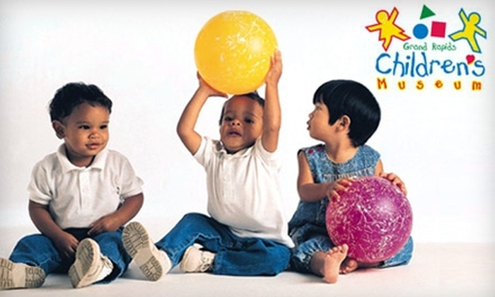 Grand Rapids Children's Museum - Heartside-Downtown: $13 for a Four-Pack of Tickets to the Grand Rapids Children's Museum