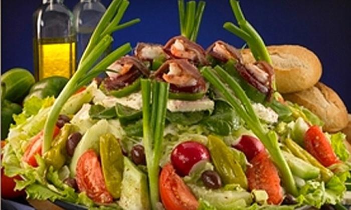 Louis Pappas Market Cafe - Lakeside Village: $5 for $10 Worth of Greek Cuisine at Louis Pappas Market Cafe