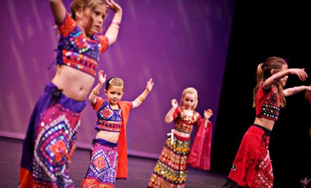 Beginner Bollywood for Ages 5.5-8, Monday, 7PM-8PM - Project Pulse in Sunnyvale