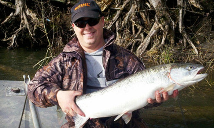 High Grade Fishing Adventures - Keizer: $150 for a Steelhead-Salmon-Fishing Charter for Two from High Grade Fishing Adventures in Keizer ($300 Value)