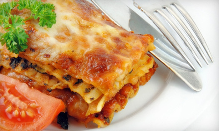 Tedesco's Italian Restaurant and Pizzeria - Chapel Hill: Italian Food or Half-Pan of Pasta at Tedesco's Italian Restaurant and Pizzeria (Up to 53% Off). Three Options Available.