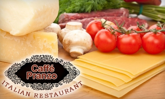 Caffé Pranzo - Central Oklahoma City: $10 for $20 Worth of Italian Fare, Drinks and More at Caffé Pranzo