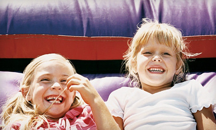 Monkey Zone - Bellwood: Fun-Center Visit for Two Kids and Two Adults or Party for up to 20 at Monkey Zone in Melrose Park (Up to 55% Off)