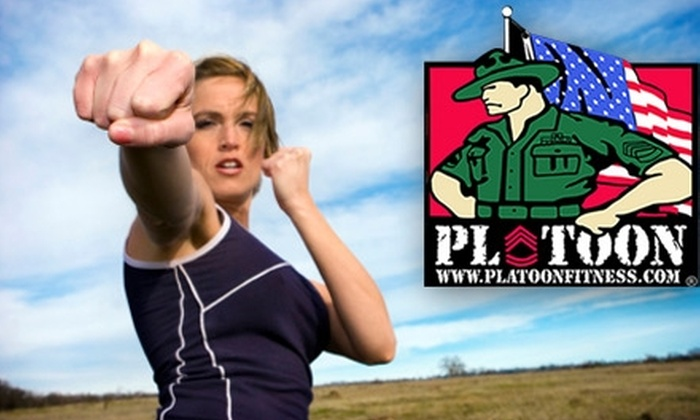 "Platoon Fitness - Bryn Mawr: $50 for One ""Realistic Options Against Rape"" Training Session at Platoon Fitness ($150 Value)"