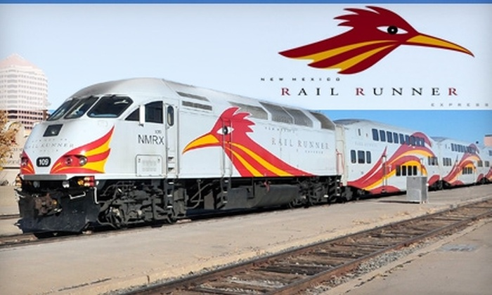 New Mexico Rail Runner - Albuquerque Original Townsite: $10 for Three All-Zone Day Passes, with Unlimited Travel, for New Mexico Rail Runner ($27 Value)