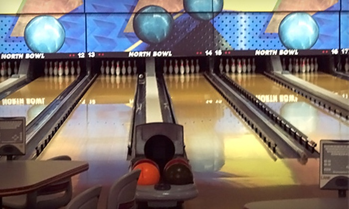 North Bowl - Spokane: $7 for Two Games of Bowling, Shoe Rental, and One Drink at North Bowl ($17.25 Value)