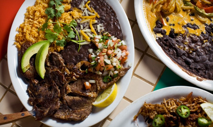 The Adobe Cafe - Multiple Locations: Three-Course Southwestern Dinner for Two or Four at The Adobe Cafe