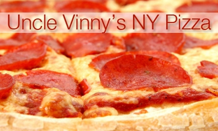 Uncle Vinny's New York Style Pizzeria - North Side: $8 for One Large Specialty Pie at Uncle Vinny's New York Style Pizzeria (Up to $16 Value)