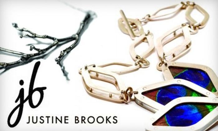 Justine Brooks Design: $20 for $40 Worth of Handmade Jewellery from Justine Brooks Design