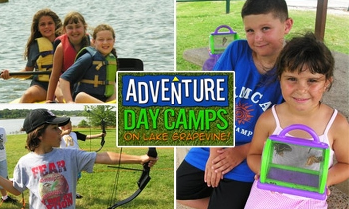 Adventure Day Camps - Grapevine: $20 for a One-Day Pass at Adventure Day Camp ($45 Value)