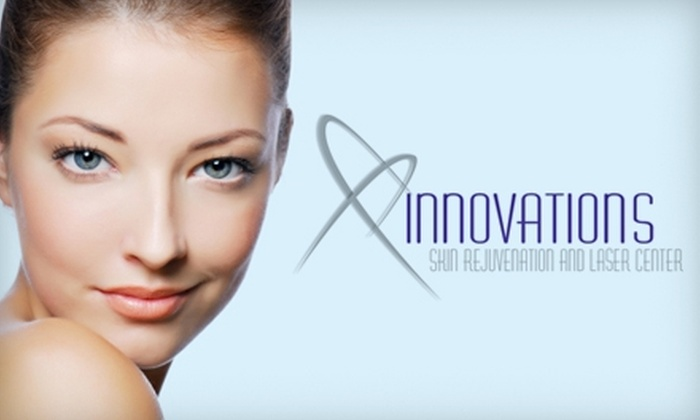Innovations Skin Rejuvenation and Laser Center - Lower Paxton: Skin-Rejuvenating Services at Innovations Skin Rejuvenation and Laser Center. Three Options Available.